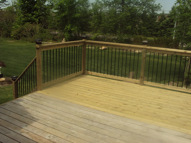 Composite deck top rated composite deck material for Best composite decking material